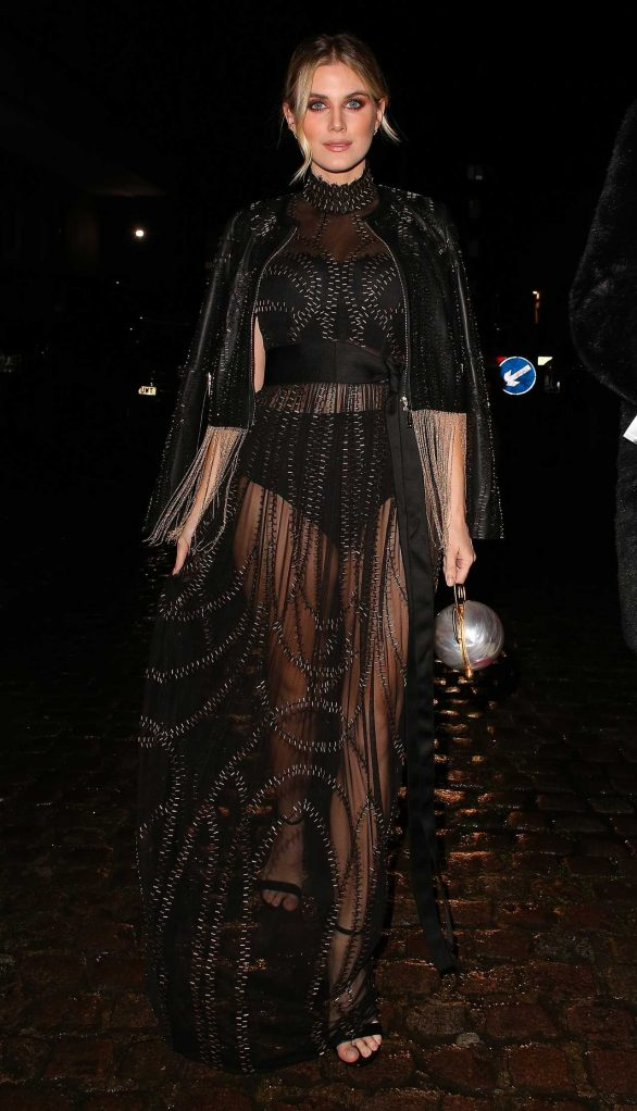 Ashley James - Looks stylish at 40th BRIT Awards After party in London