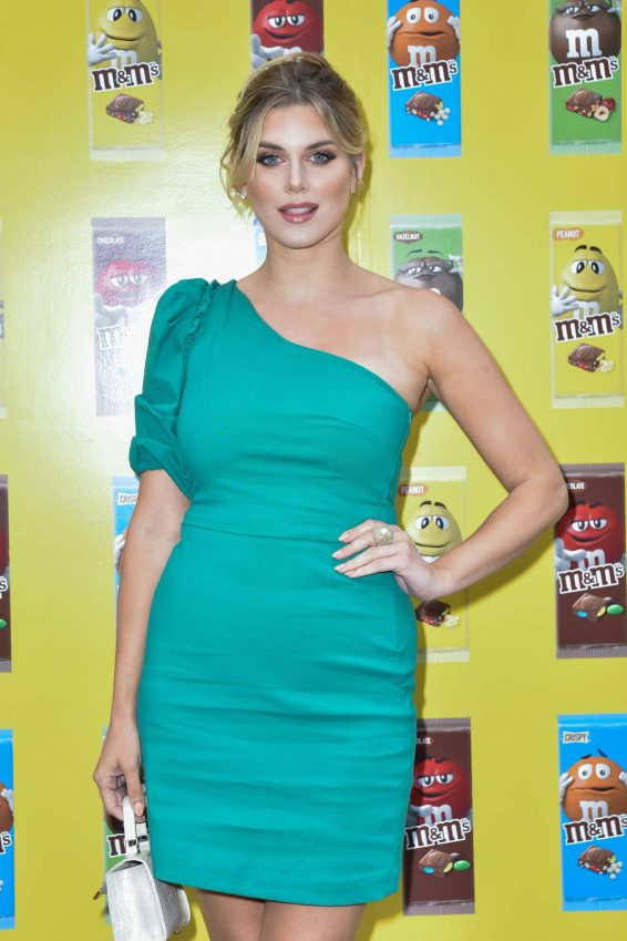 Ashley James - M&M's Get Stuck In Launch Event in London
