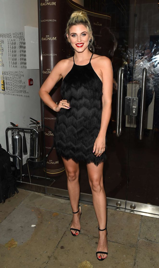 Ashley James - Magnum VIP Launch Party in London