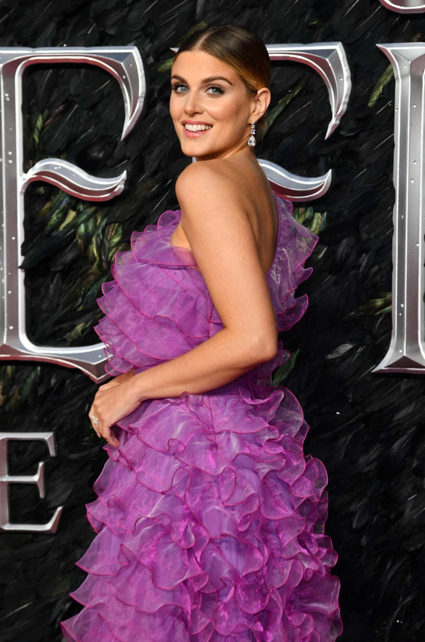 Ashley James - 'Maleficent: Mistress of Evil' Premiere in London