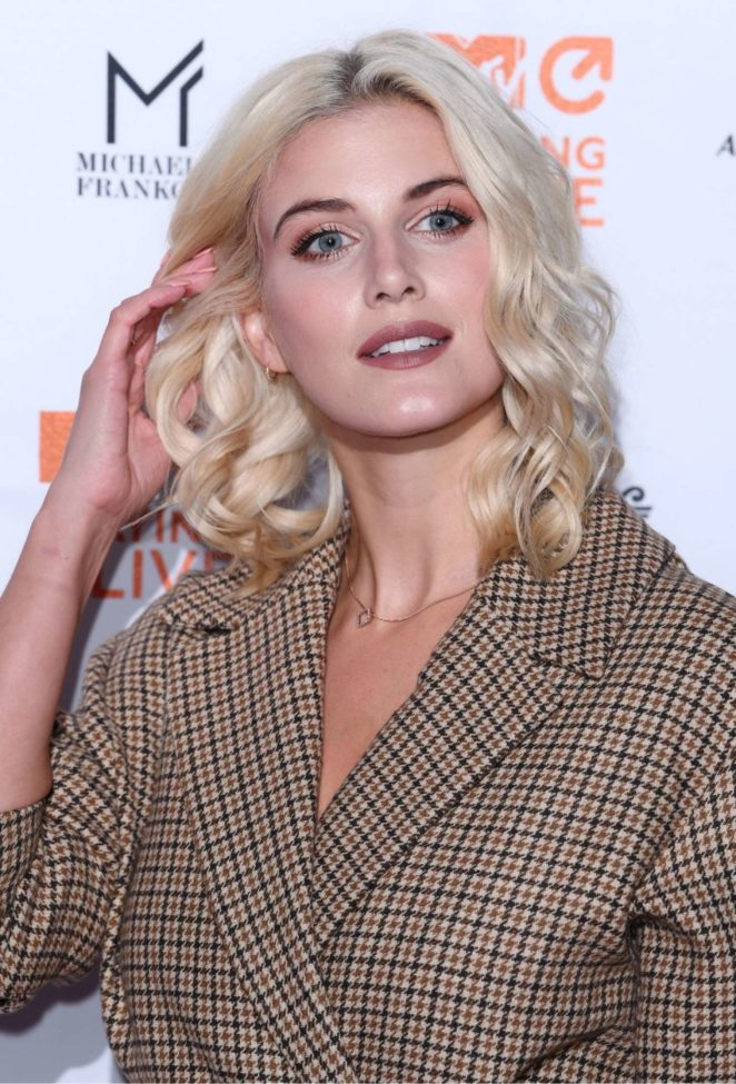 Ashley James - MTV Staying Alive Gala in London