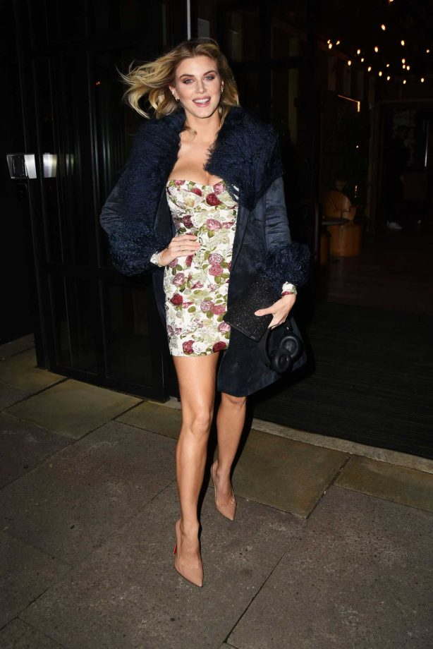Ashley James - Night out in London