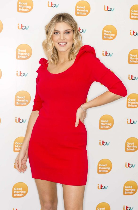 Ashley James - On 'Good Morning Britain' in London