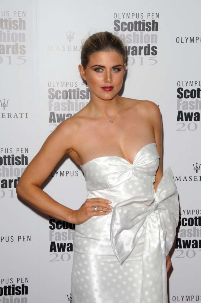 Ashley James - Scottish Fashion Awards 2015 in London