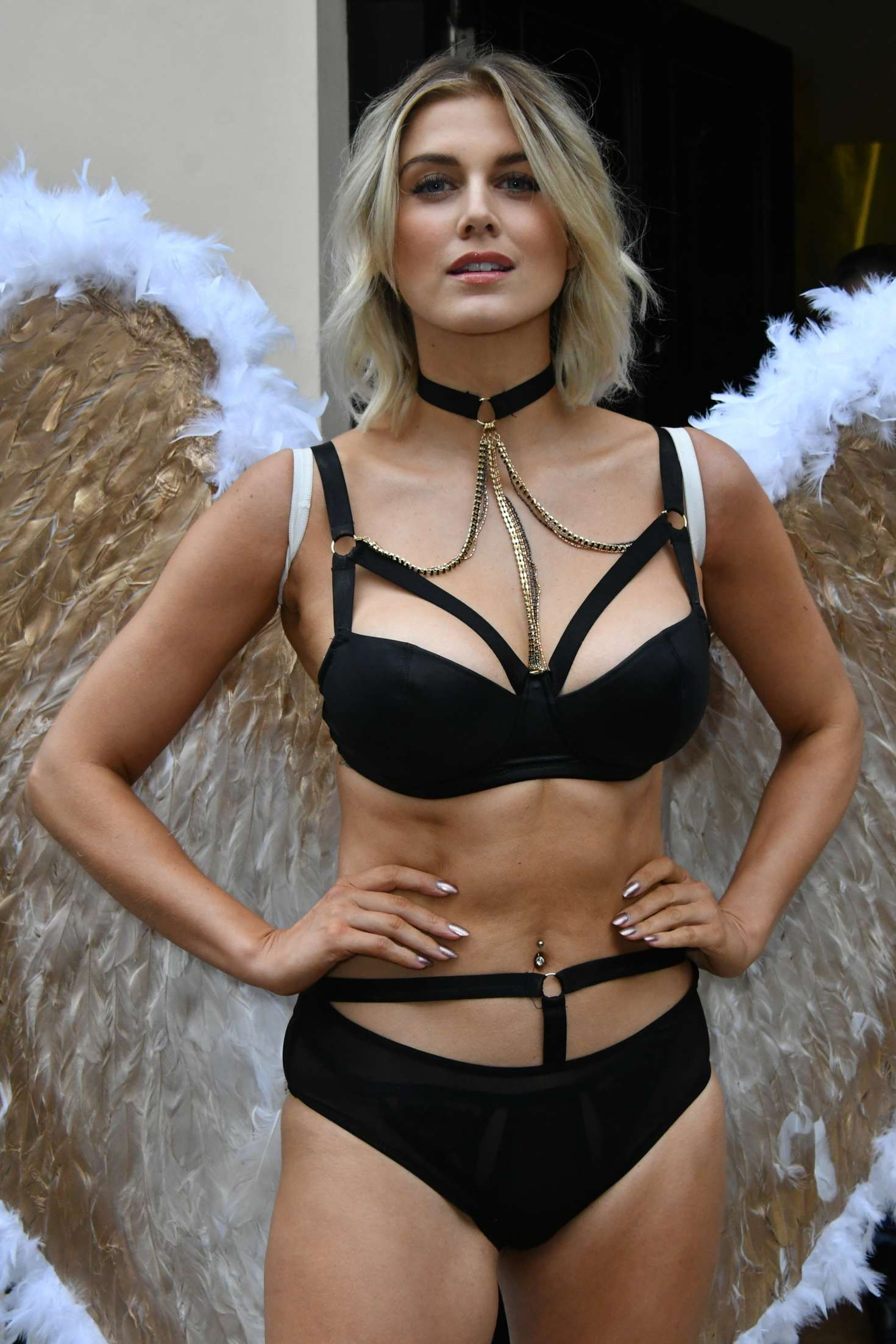 Ashley James - Simply Be's Christmas Collection Photocall in London