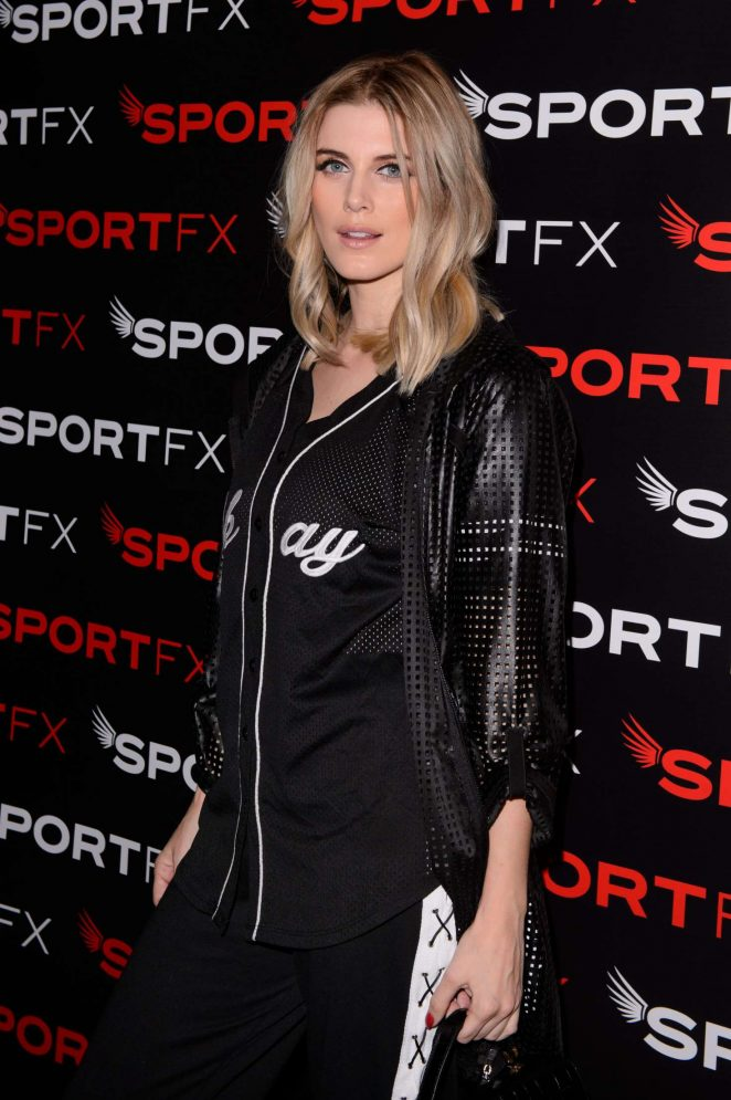 Ashley James - SPORTFX Cosmetic and Sports Launch Party in London