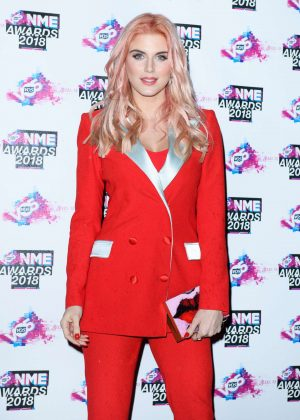 Ashley James - VO5 NME Awards 2018 in London