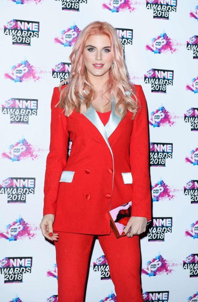 Ashley James - VO5 NME Awards 2018 in London