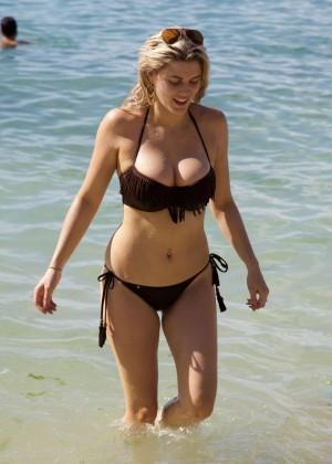 Ashley James - wearing a bikini in Bali