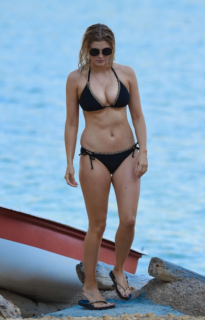 Ashley James – Wearing Black Bikini -03