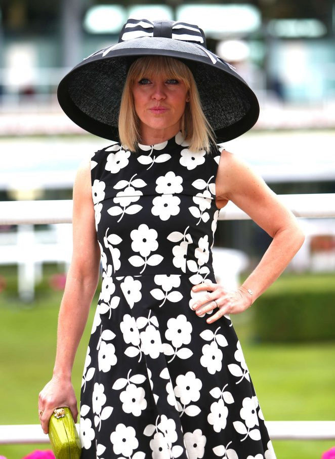 Ashley Jensen - Day 5 of Royal Ascot at Ascot Racecourse in Ascot