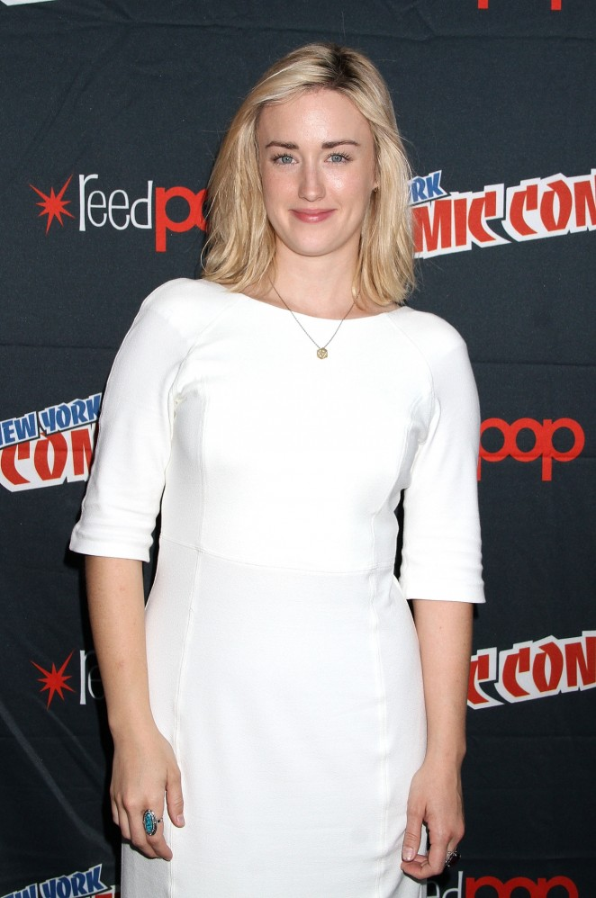 Ashley Johnson - New York Comic Con 2015 - Day 4 in NYC