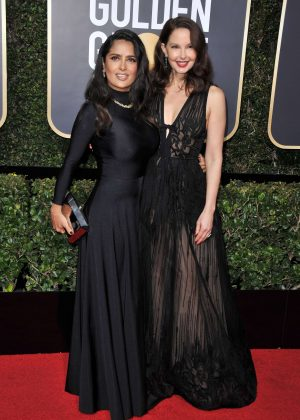 Ashley Judd - 2018 Golden Globe Awards in Beverly Hills