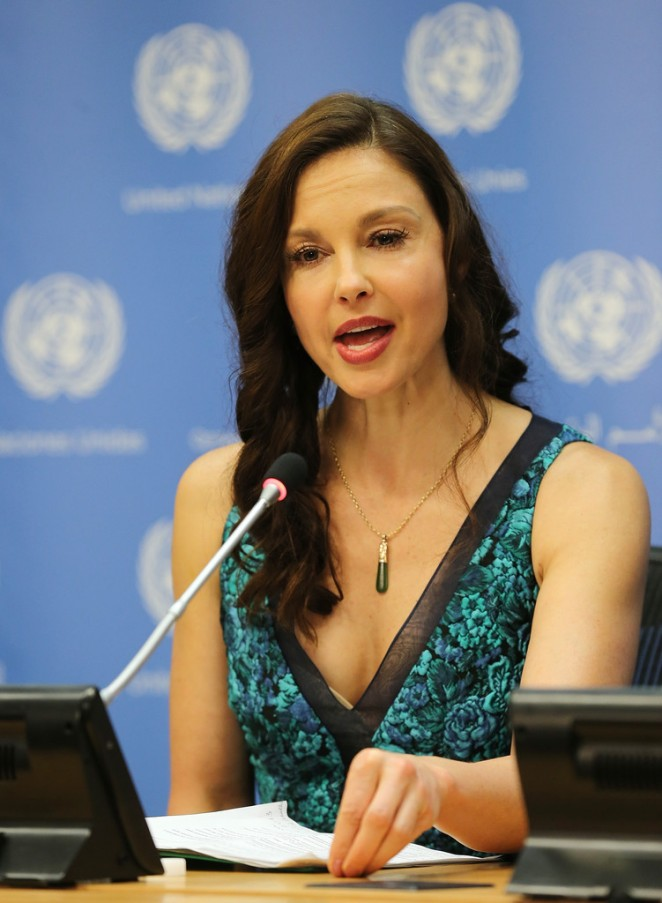 Ashley Judd - Appointed As The UN Population Fund's Goodwill Ambassador in NY