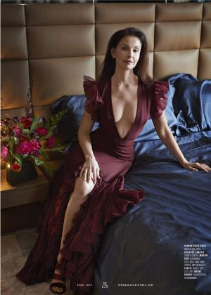 Ashley Judd - Town and Country US Magazine (April 2018)
