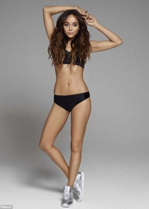 Ashley Madekwe - 2015 Reebok Classics Photoshoot