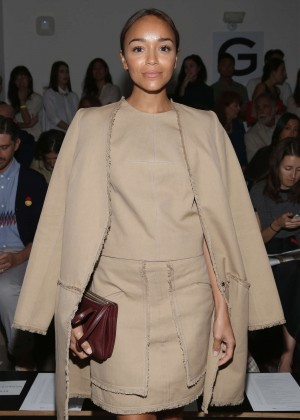 Ashley Madekwe - Wes Gordon Fashion Show at Spring 2016 NYFW