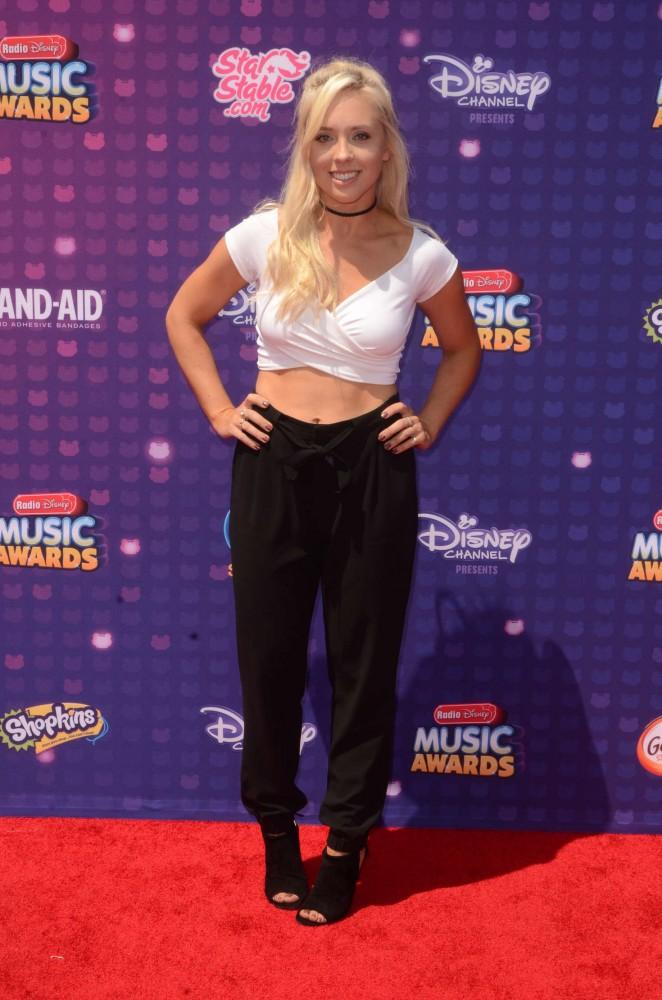 Ashley Nichole - 2016 Radio Disney Music Awards in Los Angeles