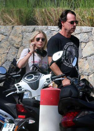 Ashley Olsen and Boyfriend Richard Sachs in Saint Barts