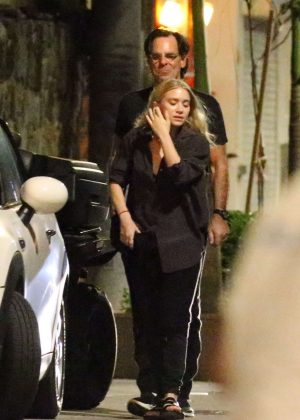 Ashley Olsen on vacation in St Barth