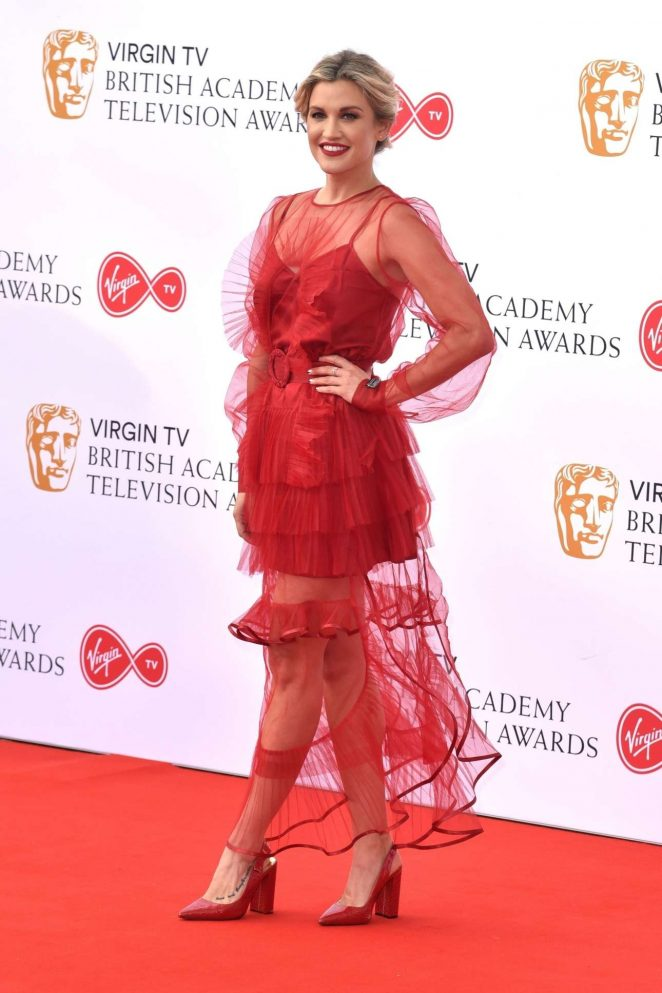 Ashley Roberts - 2018 British Academy Television Awards