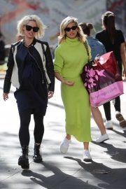 Ashley Roberts and Kimberly Wyatt - Out in London