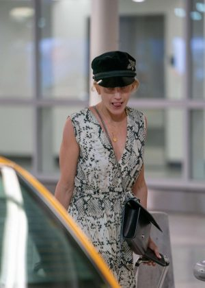 Ashley Roberts - Arriving in Miami