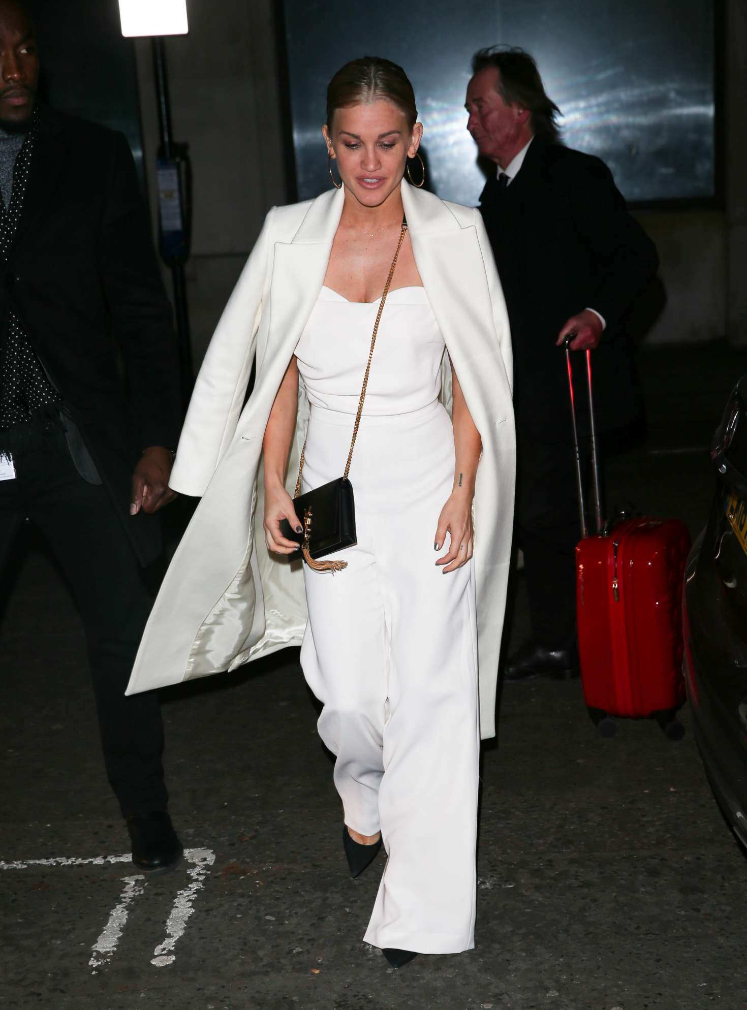 Ashley Roberts 2018 : Ashley Roberts: Arriving on Chris Evans Breakfast Show -03