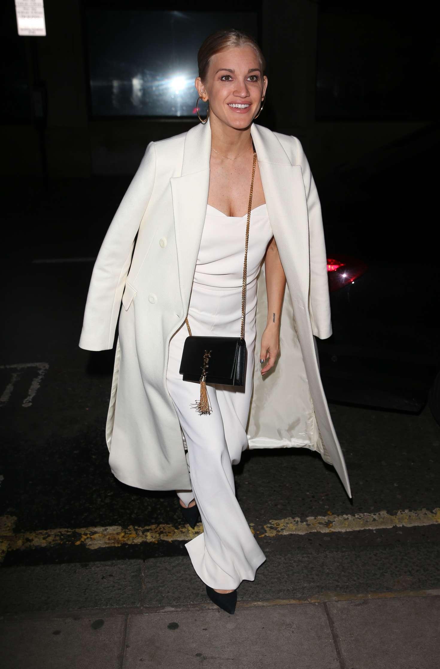 Ashley Roberts 2018 : Ashley Roberts: Arriving on Chris Evans Breakfast Show -07