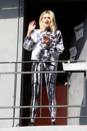 Ashley Roberts - Arriving to rehearsals for a new music video in West Hollywood