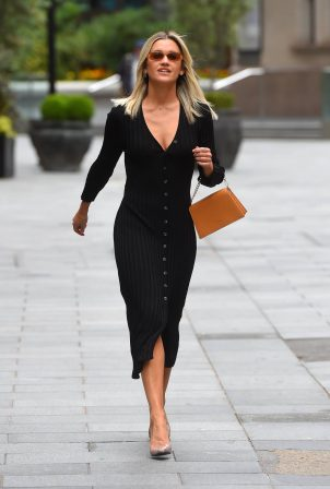 Ashley Roberts at Global Offices in London