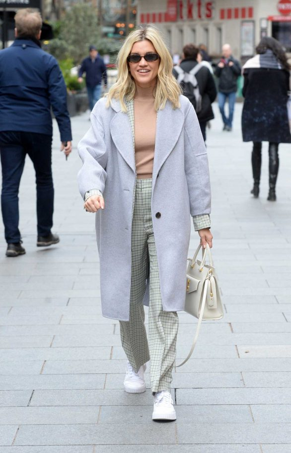 Ashley Roberts at Global Radio Studios in London