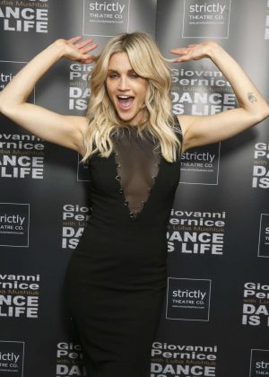Ashley Roberts at The Shaw Theatre in London