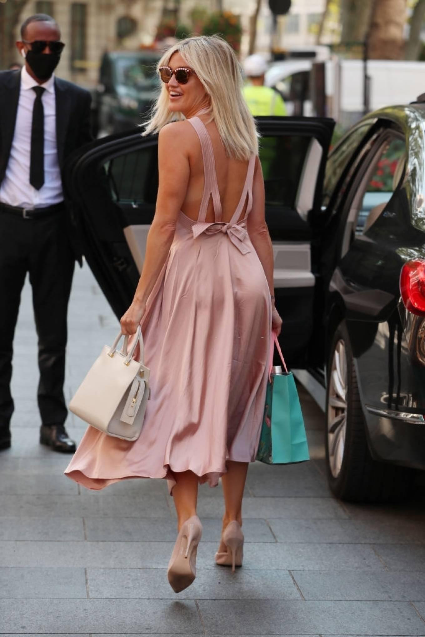 Ashley Roberts 2020 : Ashley Roberts – In maxi dress At Global Radio in London-01