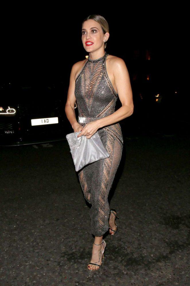 Ashley Roberts - Julien Macdonald Fashion Show in London