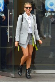 Ashley Roberts - Leaves Global Radio Studios in London