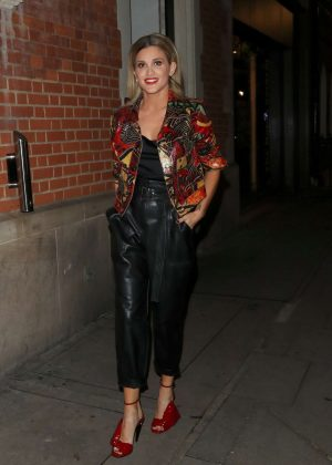 Ashley Roberts - Leaves 'It Takes Two' in London
