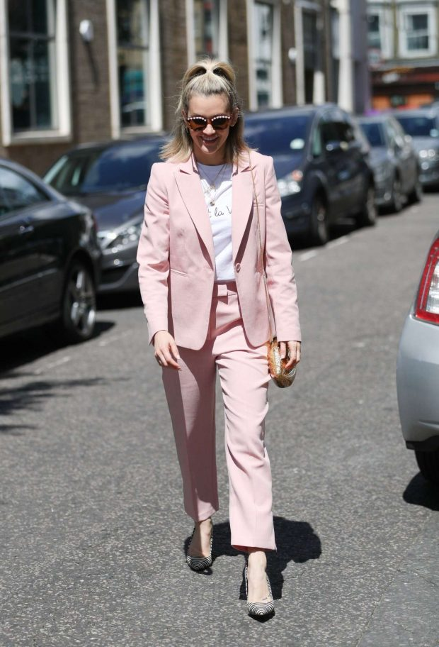 Ashley Roberts - Leaving BBC's Saturday Kinchen TV Show in London
