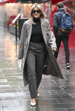 Ashley Roberts - leaving Global Studios in London