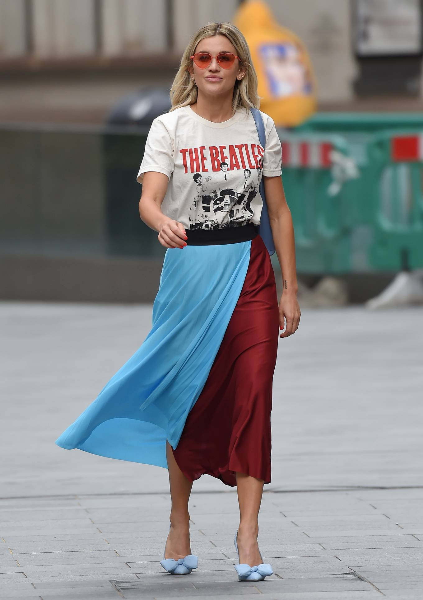 Ashley Roberts 2020 : Ashley Roberts – Leaving Heart Radio in London-05