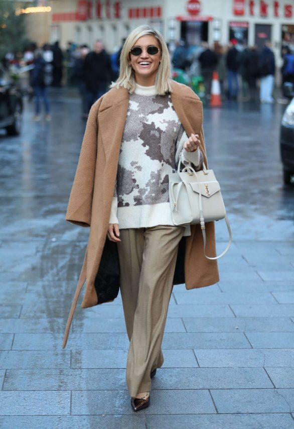 Ashley Roberts - Leaving Heart Radio in London
