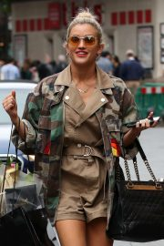 Ashley Roberts - Leaving the Global Radio Studios in London