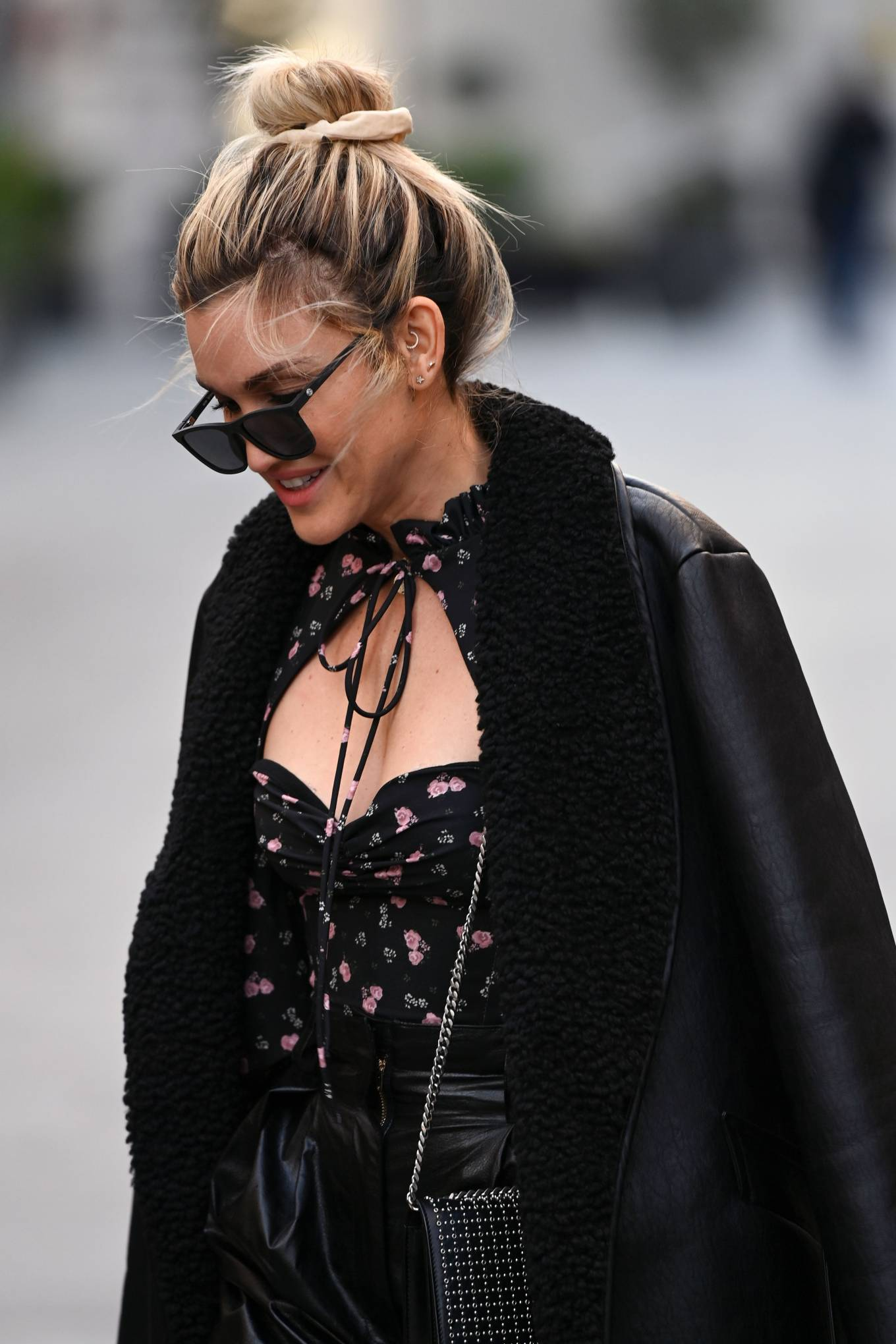 Ashley Roberts 2020 : Ashley Roberts – Looks chic leaving the Global Radio Studios in London-15