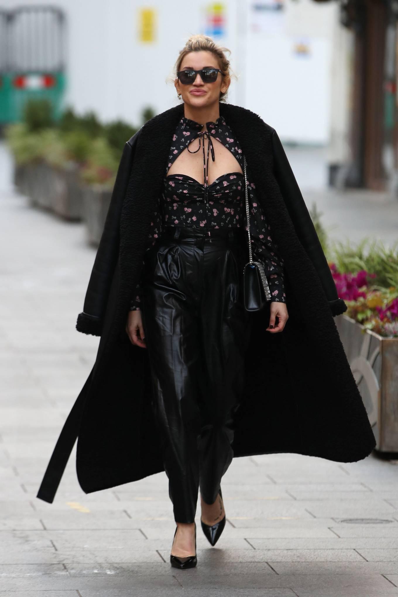 Ashley Roberts 2020 : Ashley Roberts – Looks chic leaving the Global Radio Studios in London-28
