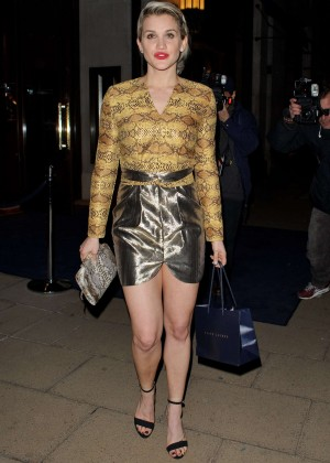 Ashley Roberts - Louise Roe Book Launch in London
