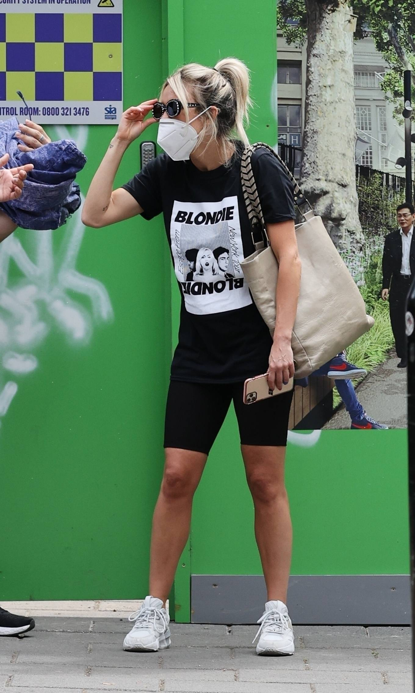 Ashley Roberts - Pictured after doing voluntary work in London