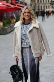 Ashley Roberts – Pictured at Heart Radio in London