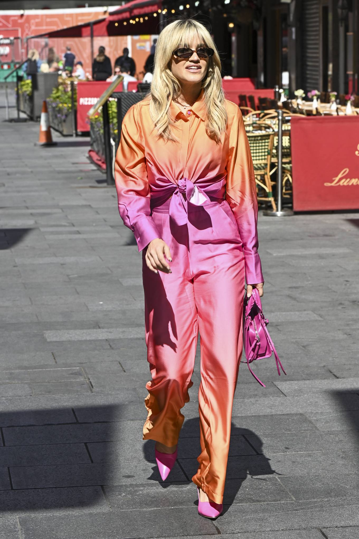 Ashley Roberts 2020 : Ashley Roberts – Seen leaving Global Studios in London-03