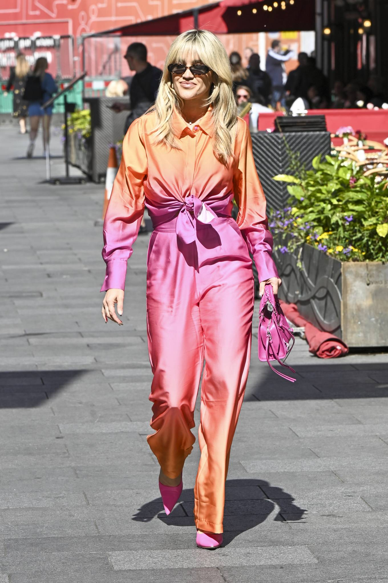 Ashley Roberts 2020 : Ashley Roberts – Seen leaving Global Studios in London-05