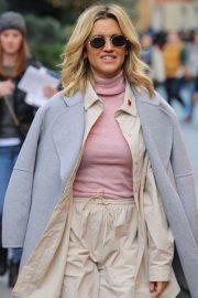 Ashley Roberts - Seen leaving Heart Radio in London